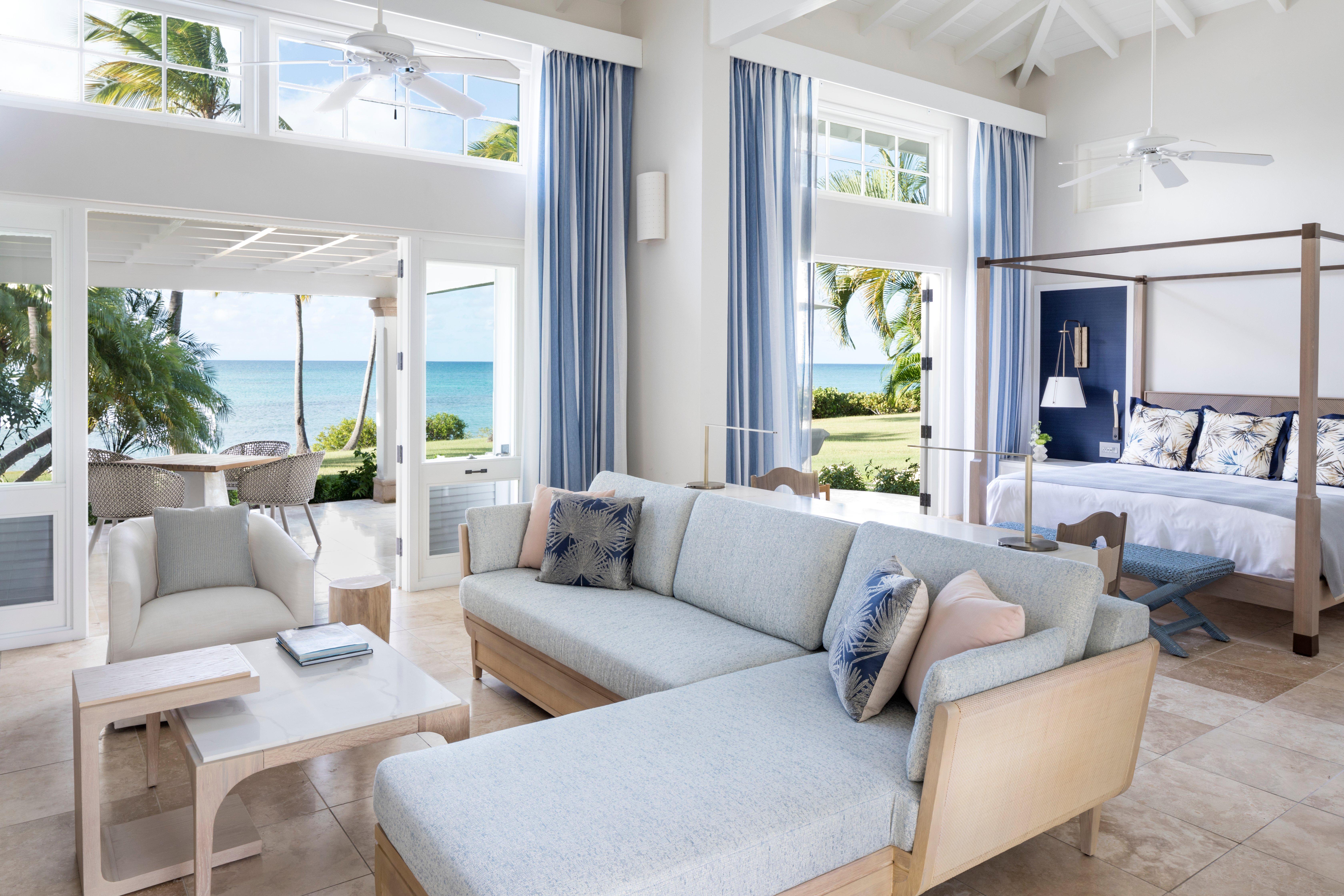 Living Room Luxury Resort in The Caribbean