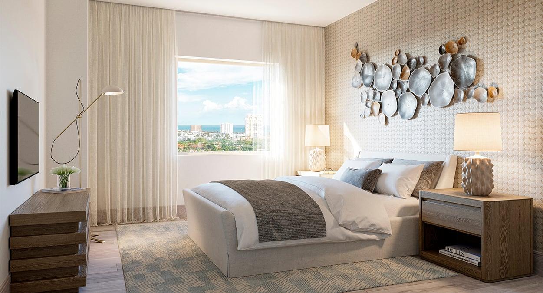Block 40 - Residential Unit Bedroom