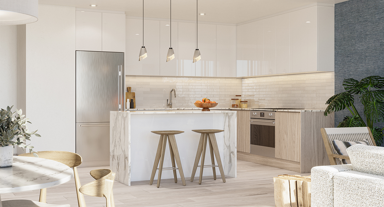 Block 40 - Residential Unit Kitchen