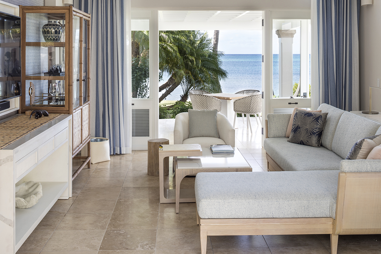 Jumby Bay Pond Bay Suite Living Room