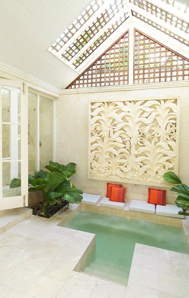 Private hot tub at Roaring Pavilion, Jamaica