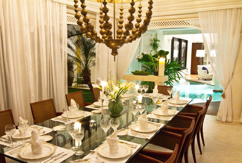 Dining area at Roaring Pavilion, Jamaica