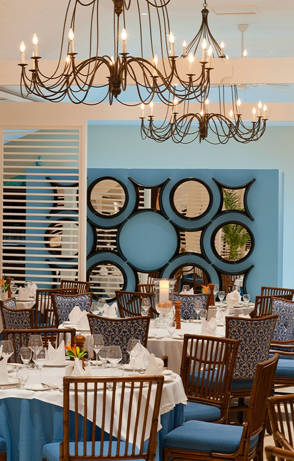 Dining area at The Body Holiday