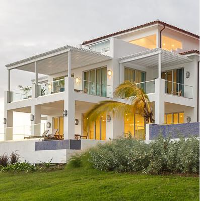 Balconies at Windjammer Landings in St. Lucia