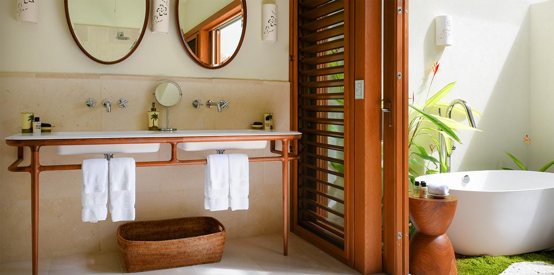 Jumby Bay Allamanda Bathroom Sinks and Tub