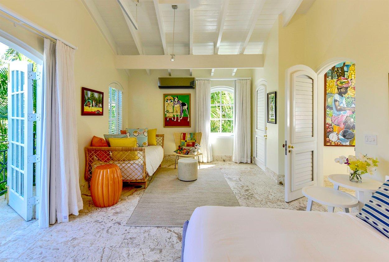 Extra bedroom in Blue Belle Villa in Jumby Bay