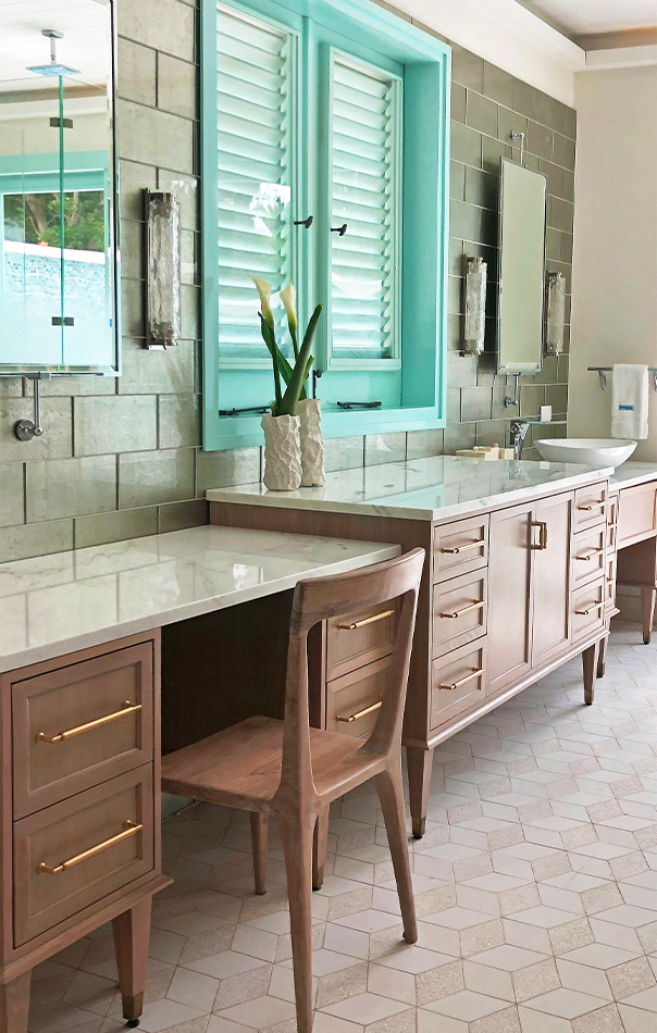 Jumby Bay Evangeline Bathroom Countertops
