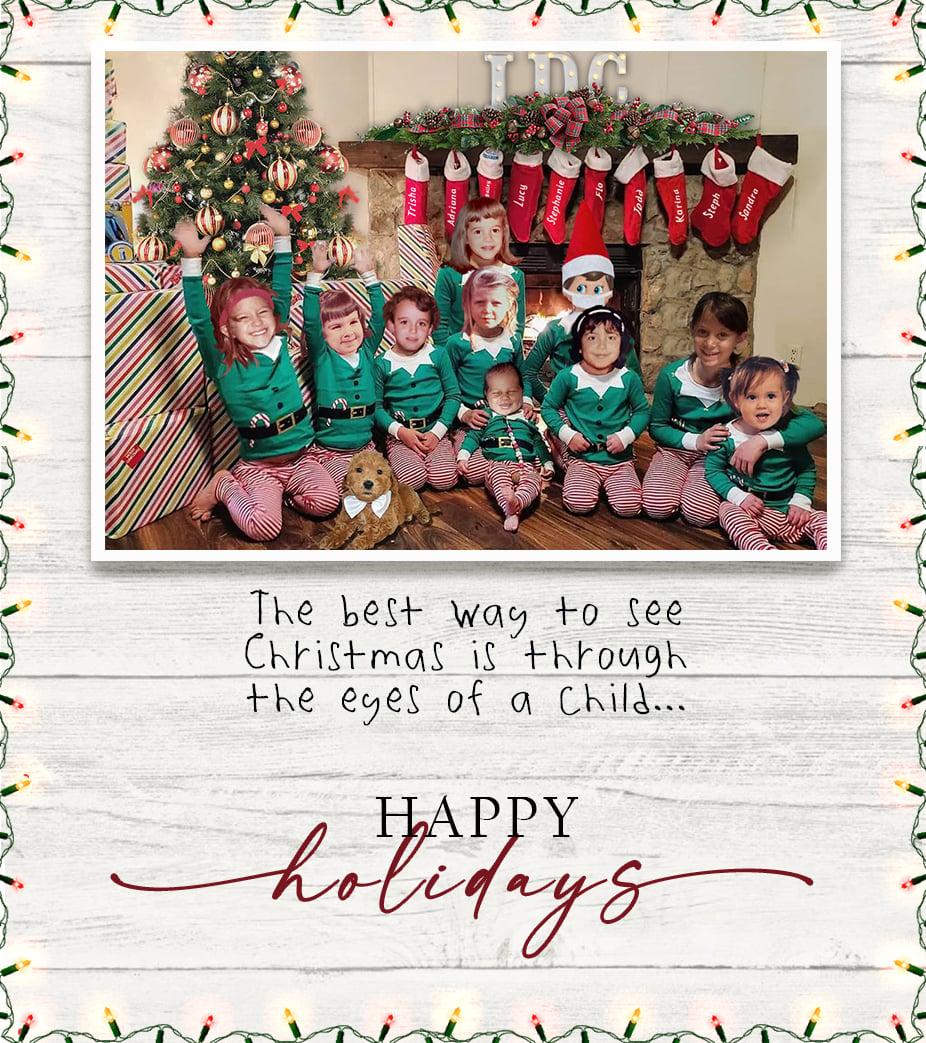 IDC Christmas Card SQUARE