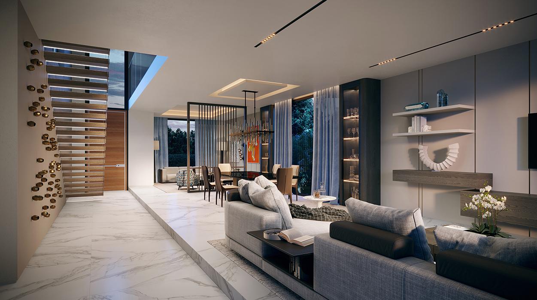 Miami Beach Residence Great Room